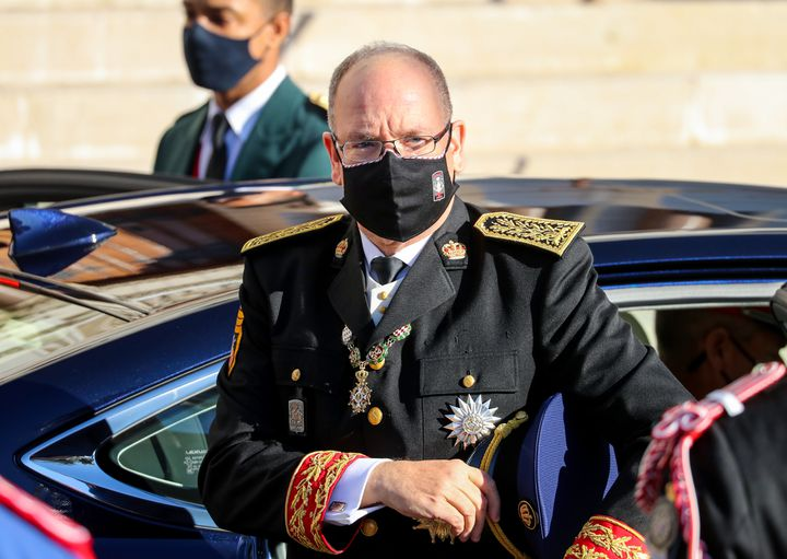 Prince Albert & nbsp; II of Monaco & nbsp; contracted Covid-19 in mid-March, but suffered only mild symptoms.  (VALERY HACHE / AFP)