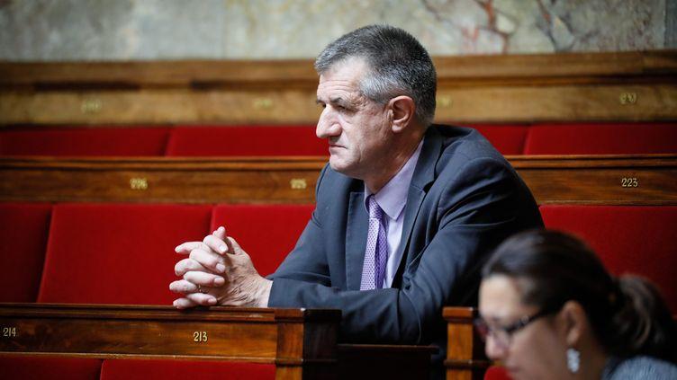 Le député Jean Lassalle à l'Assemblée nationale (Paris), le 28 juillet 2017. (MAXPPP)