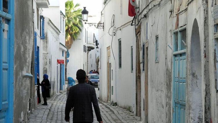 Une rue de la médina de Tunis (FTV - Laurent Ribadeau Dumas)