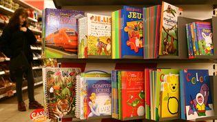 Livres jeunesse dans un supermarché belge (archives)  (Michel Houet / Belpress / MaxPPP)