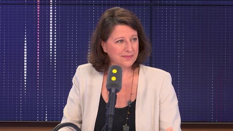 La ministre de la Santé Agnès Buzyn était l'invitée de franceinfo vendredi 19 juillet 2019. (FRANCEINFO)