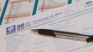 Le RSA pourrait être intégré au sein d'un dispositif plus global: Le revenu universel d'activité (JEAN FRANÇOIS FREY / MAXPPP)