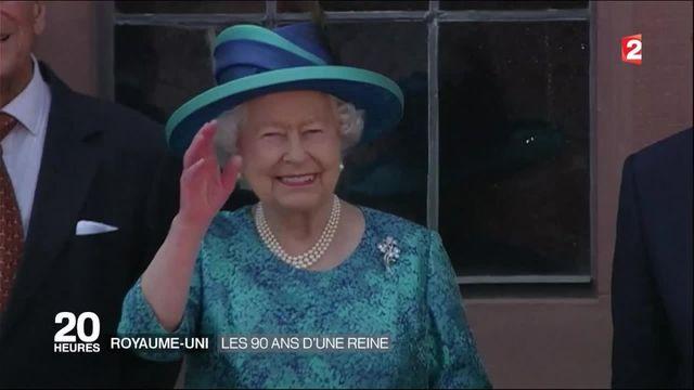 Royaume-Uni : la reine Elisabeth II fête ses 90 ans