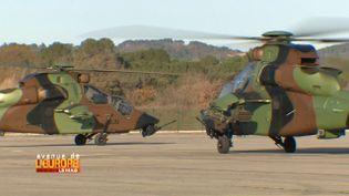 Avenue de l'Europe. Défense européenne : l'hélicoptère Tigre, un exemple de la coopération franco-allemande (FRANCE 3)