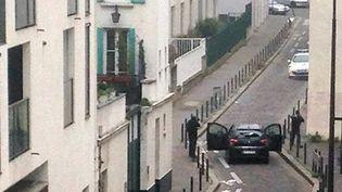 Les 2 terroristes à l'attaque de Charlie Hebdo  (ANNE GELBARD / AFP)