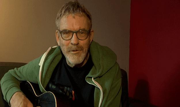 Dick Annegarn pour une chanson improvisée  (France 3)