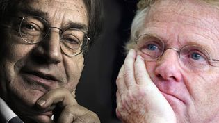 Alain Finkielkraut et Daniel Cohn-Bendit. (DR)