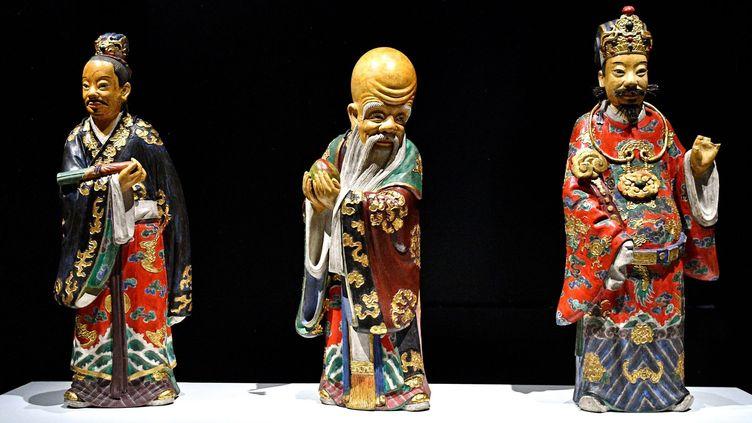"""Exposition """"Jusqu'au bout du monde, regards de missionnaires"""" au musée des Confluences de Lyon (PHOTOPQR/Le PROGRES/MAXPPP)"""