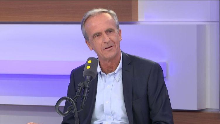 Arnaud de Belloy, PDG d'Herta France, était l'invité de franceinfo. (FRANCEINFO / RADIOFRANCE)
