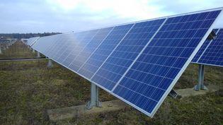 Les panneaux photovoltaïques convertissent l'énergie solaire enénergie renouvelable thermique ou électrique. (ALEXANDRE CHASSIGNON / FRANCE-BLEU MAINE)