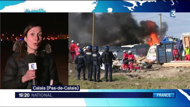 """""""Jungle"""" de Calais : un démantèlement accéléré ?"""