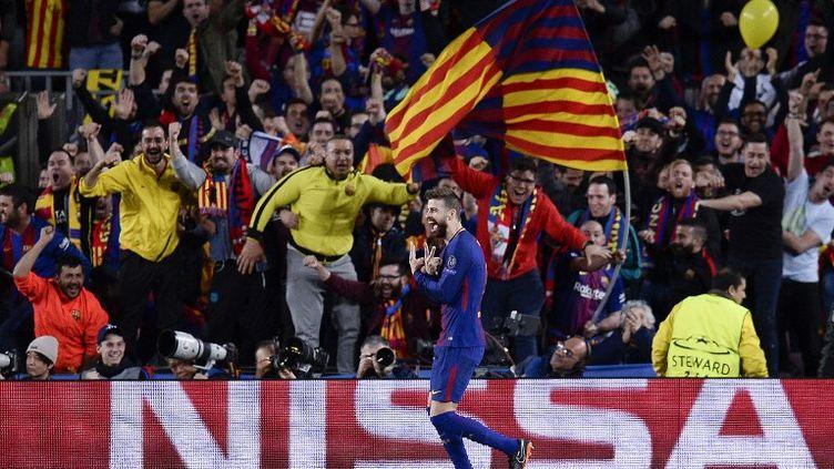 Les Barcelonais se sont largement imposés face à la Roma (JOSEP LAGO / AFP)