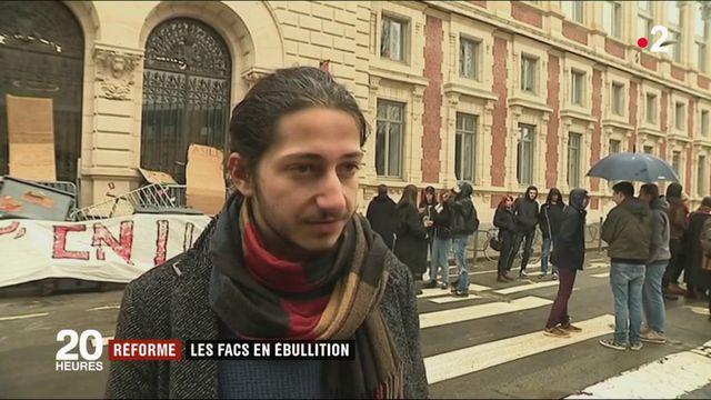 Réforme de l'accès à l'université : les mouvements de protestation s'intensifient