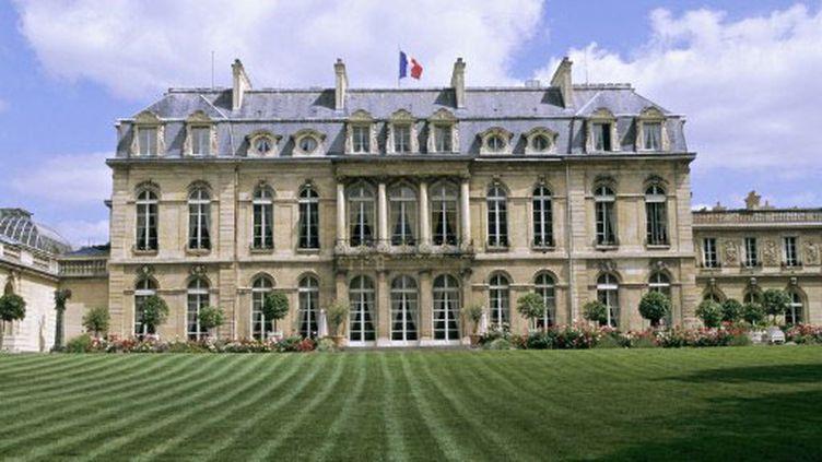Les jardins de l'Elysée (AFP)