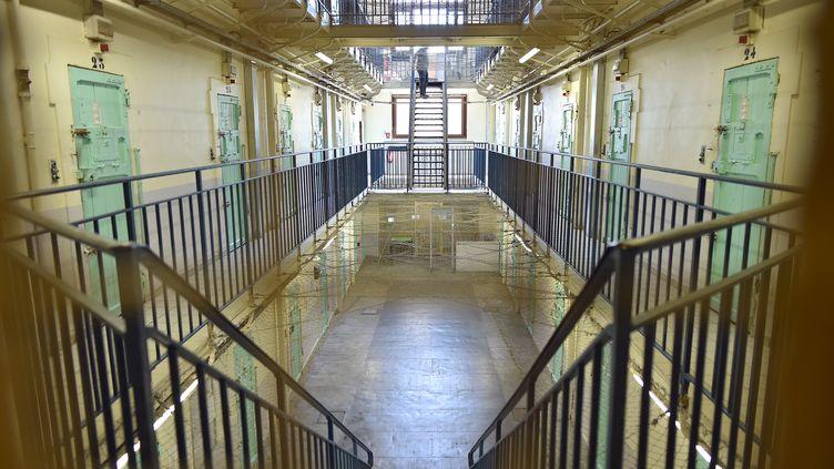 La prison deCarcassonne, le 9 juin 2017. (Photo d'illustration) (REMY GABALDA / AFP)