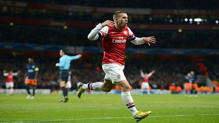 Lukas Podolski (ADRIAN DENNIS / AFP)