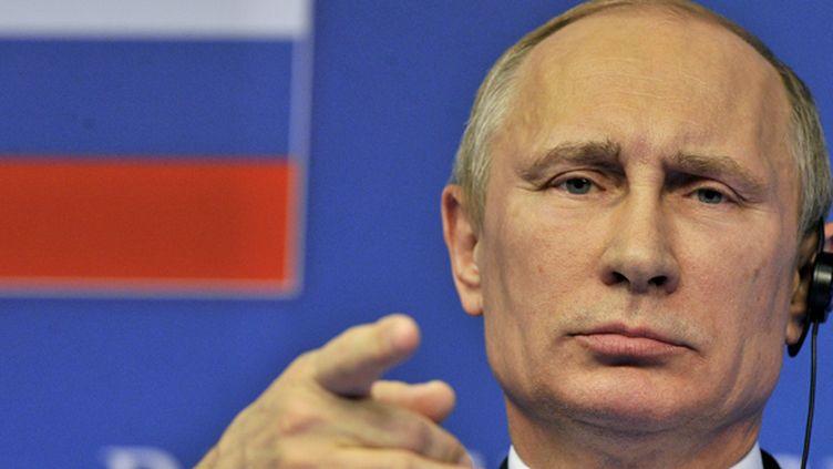 Vladimir Poutine (GEORGES GOBET / AFP)