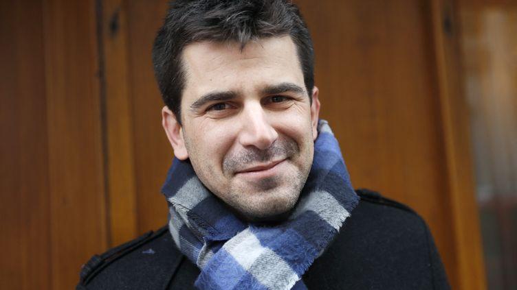 Mathieu Hanotin, le maire (PS) de Saint-Denis (Seine-Saint-Denis), en 2017. (THOMAS SAMSON / AFP)