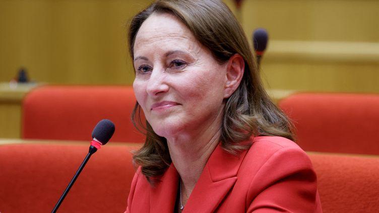 Ségolène Royal, ancienne ministre de l'Ecologie, lors d'une audience parlementaire, au Sénat, le 9 juillet 2020. (DANIEL PIER / NURPHOTO / AFP)