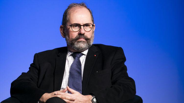 Le maire de Sceaux Philippe Laurent le 15 décembre 2018, lors du Congrès de l'UDI. (VINCENT ISORE / MAXPPP)
