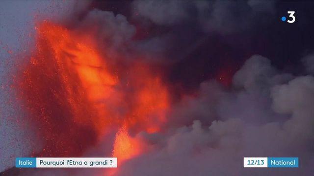 Sicile : l'Etna en éruption atteint un nouveau record de hauteur