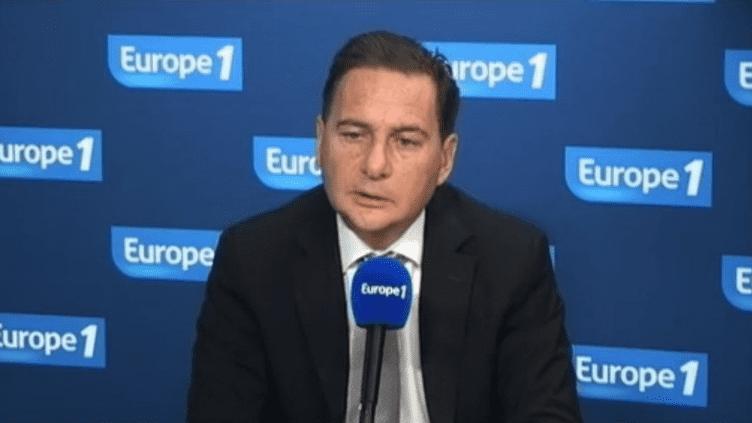 Le ministre de l'Industrie Eric Besson, sur Europe 1 le 13 décembre 2011. (EUROPE 1)