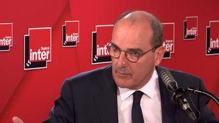 Jean Castex, sur France Inter; le 26 aout 2020. (FRANCE INTER)