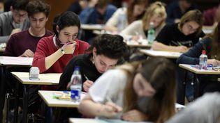 L'épreuve dephilosophie du baccalauréat, le 15 juin 2016. (Photo d'illustration) (FREDERICK FLORIN / AFP)