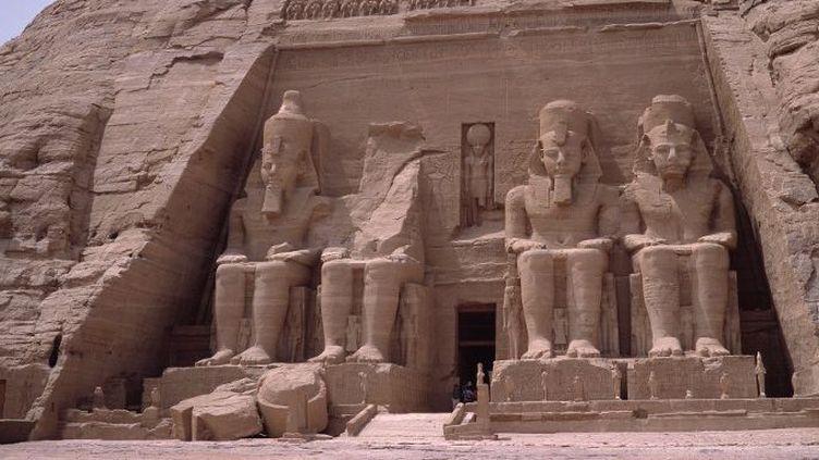 Le temple de Ramsès II à Abou Simbel en Haute-Egypte (AFP -  Josse / Leemage)