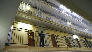 L'intérieur de la prison de Fresnes, en septembre 2016. (PATRICK KOVARIK / AFP)