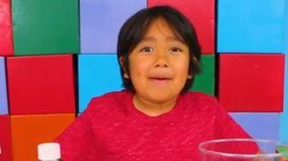 Réseaux sociaux : des enfants youtubeurs millionnaires (CAPTURE ECRAN FRANCE 2)