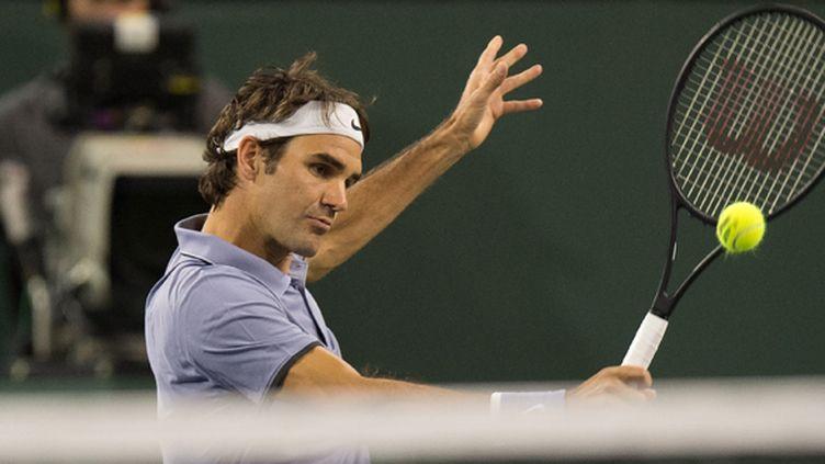 Roger Federer (JOE KLAMAR / AFP)