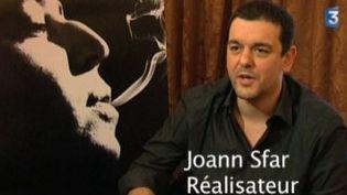 "Joann Sfar parle de son film  ""Gainsbourg (vie héroique)""  (Culturebox)"