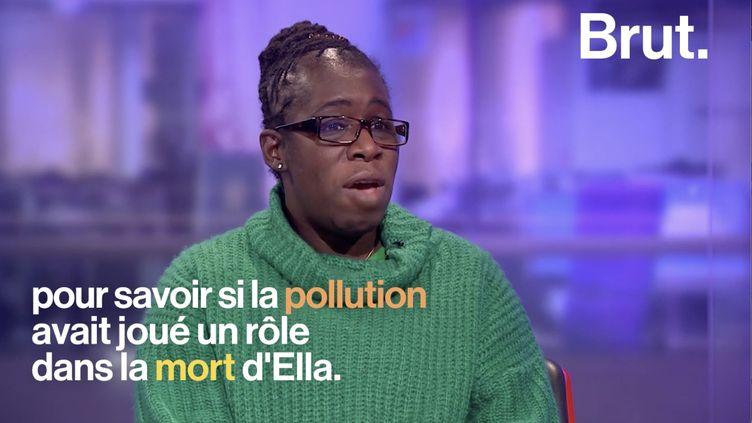 VIDEO. Ella, première victime officielle de la pollution de l'air (BRUT)
