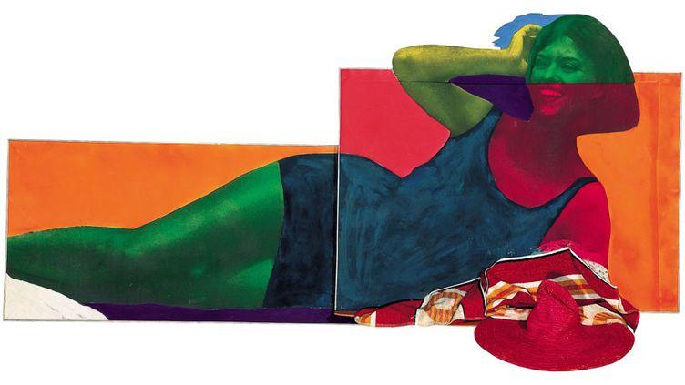 Martial Raysse, Soudain l'été dernier, 1963 - Centre Pompidou, musée national d'art moderne - Photo : Philippe Migeat / Centre Pompidou, MNAM-CCI / Dist. RMN-GP  (Adagp, Paris 2014)