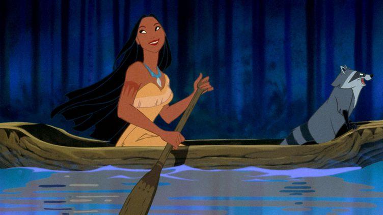 Pocahontas : Une légende indienne, long-métrage d'animation sorti en 1995. (WALT DISNEY PICTURES / COLLECTION CHRISTOPHEL VIA AFP)