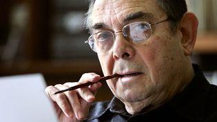Gotlib en 2005 à son domicile au Vesinet  (FRANCOIS GUILLOT / AFP)