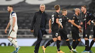 """Avec Tottenham, José Mourinho n'est plus le même """"Special One"""". (DANIEL LEAL-OLIVAS / AFP)"""