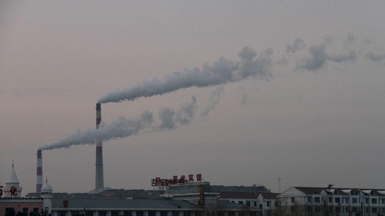 Une usine àWeihai, dans la province duShandong, en Chine, le 12 décembre 2016. (A QIANG / IMAGINECHINA / AFP)