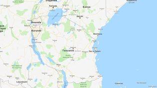 Un élève de la province de Kagera, dans le nord-ouest de la Tanzanie, est mort le 27 août 2018 après avoir été battu par un instituteur. (GOOGLE MAPS)