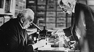 Louis et Auguste Lumière  (DR)
