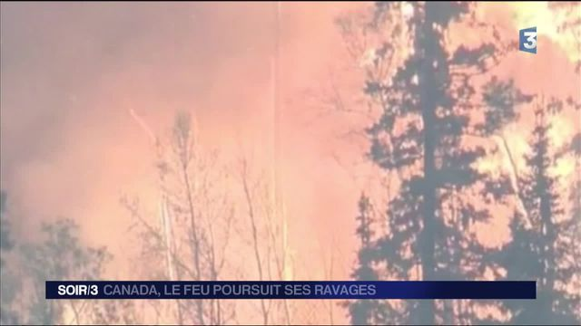 Canada : le feu poursuit ses ravages à Fort McMurray