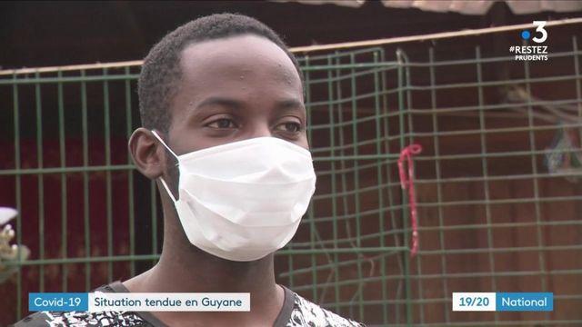 Covid-19 : la situation est très tendue en Guyane