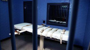 Cellule où sont exécutés des condamnés à mort par injections létales à Huntsville (USA). (MAXPPP)