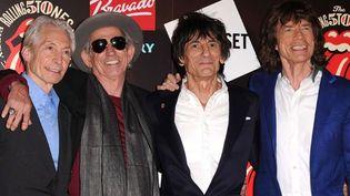 Les Rolling Stones, le 12 juillet 2012 à Londres.  (David Fisher / Rex Feat/ REX/ SIPA )
