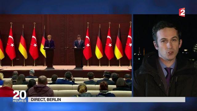 Angela Merkel demande aux soldats de l'OTAN de surveiller les côtes turques