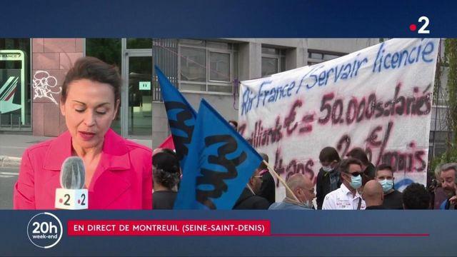 Air France : 7 580 suppressions de postes d'ici 2022