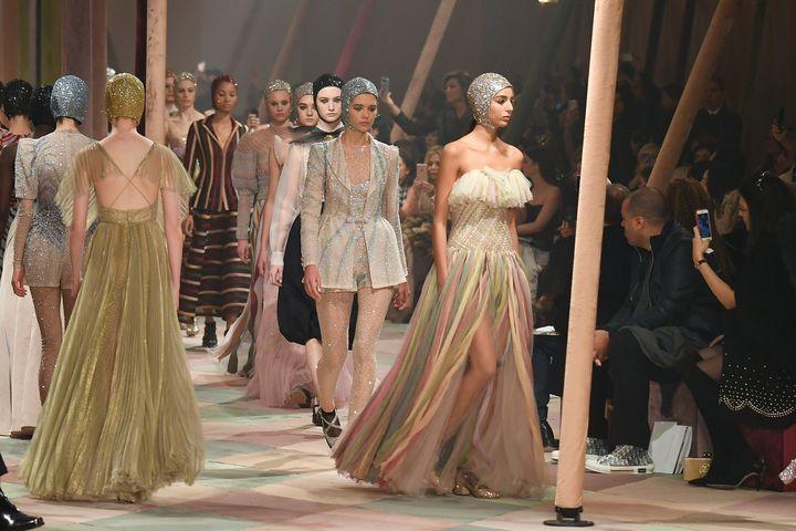 Dior haute couture printemps-été 2019, à Paris, janvier 2019  (Getty Images)