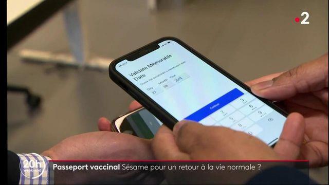 Covid-19 : l'idée d'un passeport vaccinal fait débat
