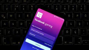 Le service Facebook Gaming propose cinq titres de jeux vidéo pour son lancement. (Photo prise le 22 avril 2020). (HAKAN NURAL / ANADOLU AGENCY)